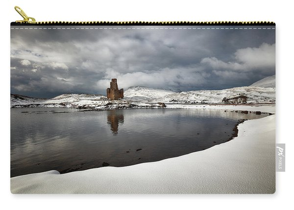 Ardvreck Castle In Winter Carry-all Pouch