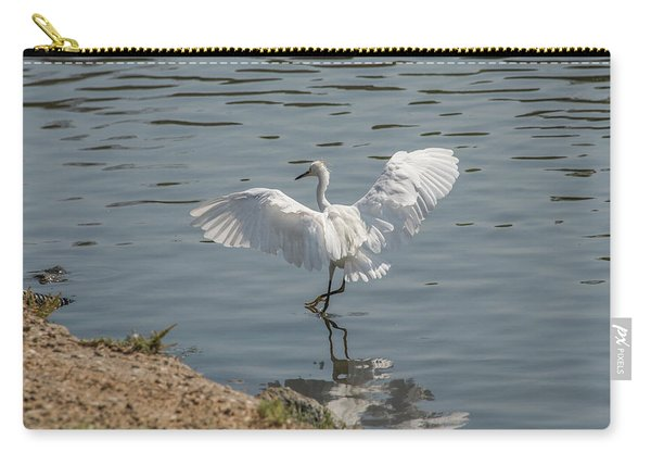 Are You Ready To Dance - Great Egret In Mtn View Ca Carry-all Pouch