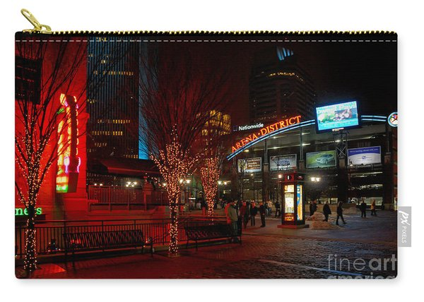 D66l-4 Arena District Photo Carry-all Pouch