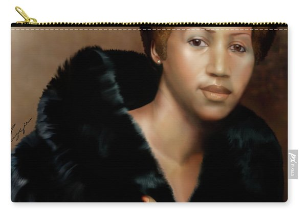 Aretha Franklin Once Upon A Queen Carry-all Pouch