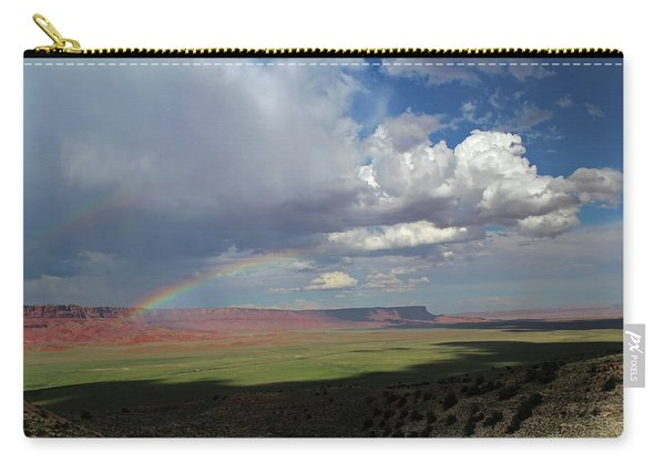 Arizona Double Rainbow Carry-all Pouch