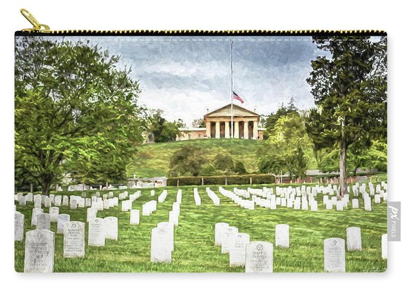 Arlington House Half Mast  Carry-all Pouch