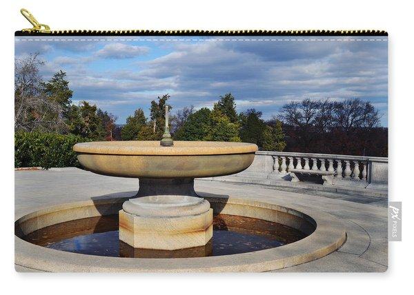 Arlington National Cemetery Memorial Fountain Carry-all Pouch