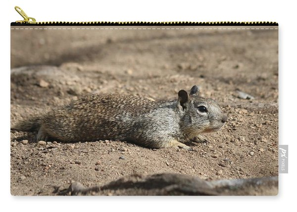 Carry-all Pouch featuring the photograph Army Crawl - 3 by Christy Pooschke