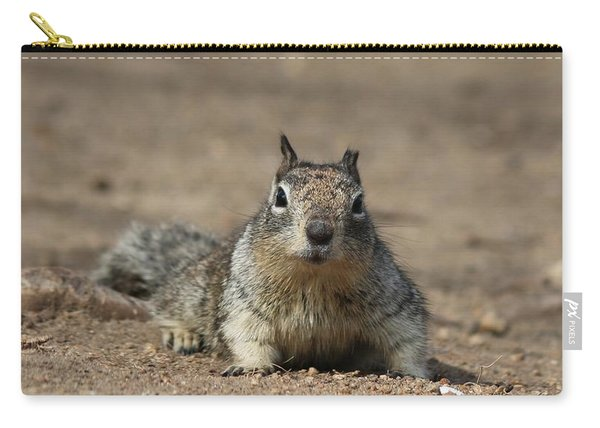 Carry-all Pouch featuring the photograph Army Crawl  by Christy Pooschke