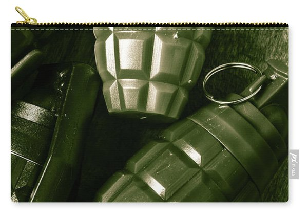 Army Green Grenades Carry-all Pouch