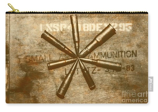 Army Star Bullets Carry-all Pouch