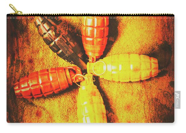 Army Star Grenade  Carry-all Pouch