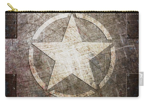 Army Star On Steel Carry-all Pouch