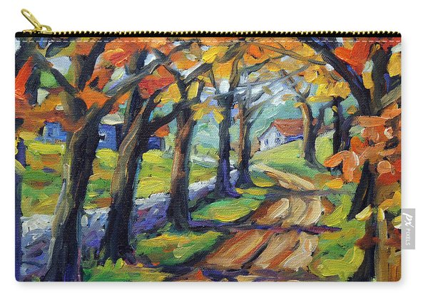 Around The Bend By Prankearts Carry-all Pouch