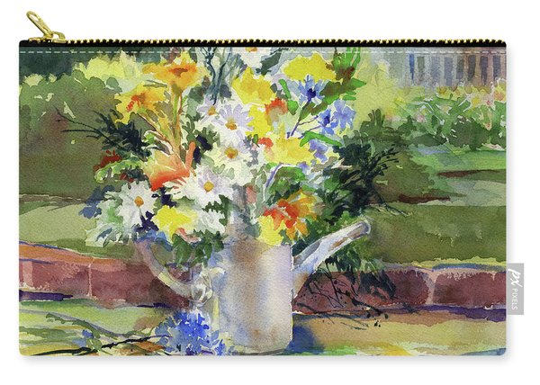 Cut Flowers Carry-all Pouch