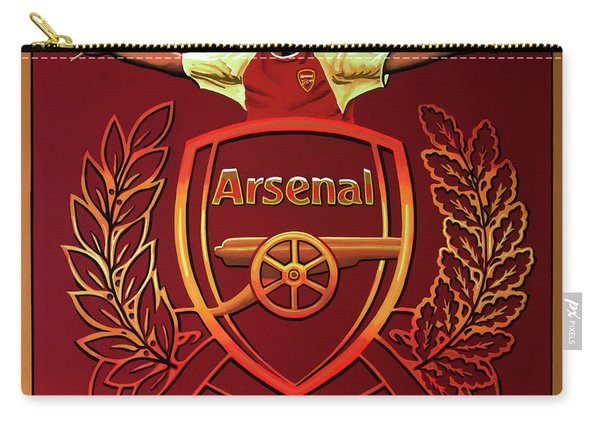Arsenal London Painting Carry-all Pouch