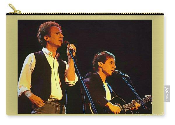 Art Garfunkel And Paul Simon Poster Art Carry-all Pouch