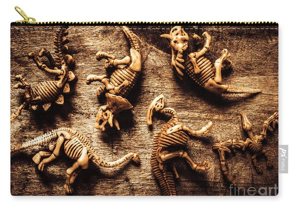 Art In Palaeontology Carry-all Pouch