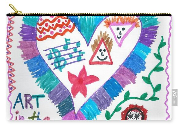 Art In The Heart Carry-all Pouch