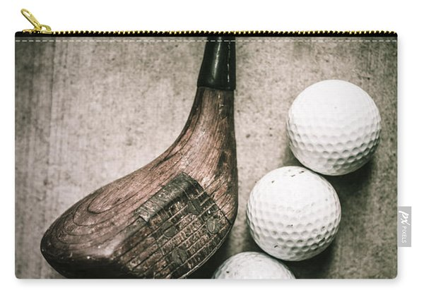 Art Of Golfing Carry-all Pouch