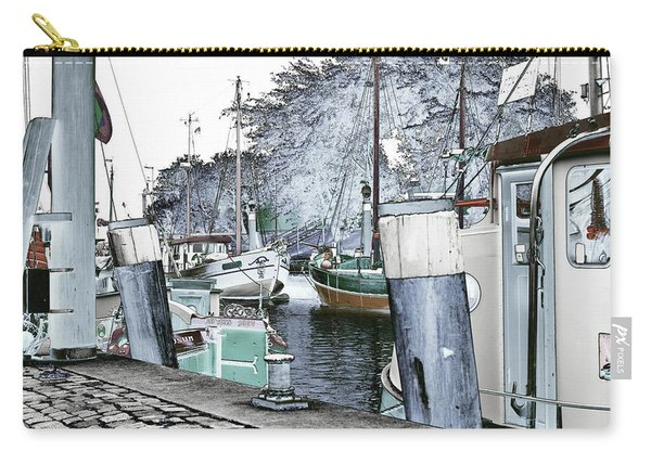 Art Print Boat 2 Carry-all Pouch