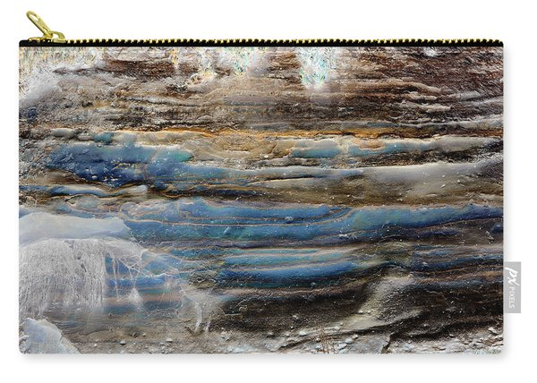 Art Print Cliff 1 Carry-all Pouch