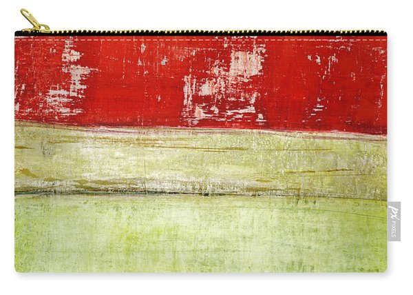 Art Print Rotgelb Carry-all Pouch