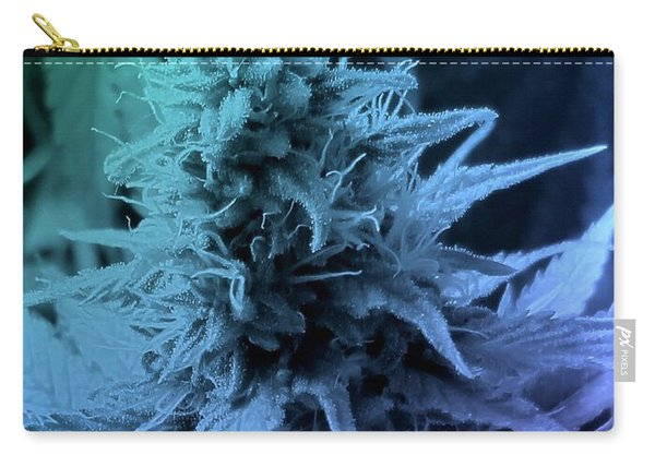 Artful Oasis Macro Abstract 112216.5 Carry-all Pouch
