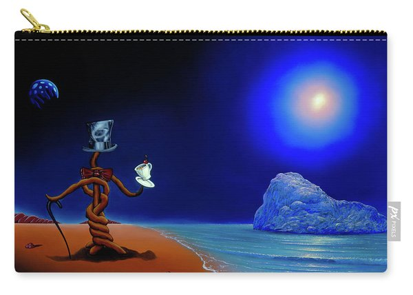 Artist Conversing Carry-all Pouch