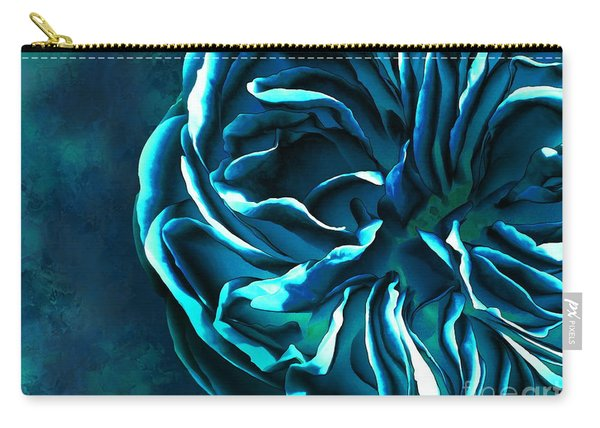 Artistique Rose Blue Carry-all Pouch