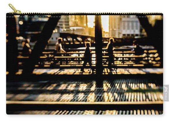Artsy Chicago Bridge Scene  Carry-all Pouch