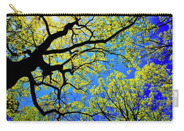 Artsy Tree Canopy Series, Early Spring - # 01 Carry-all Pouch
