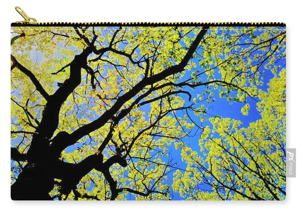 Artsy Tree Canopy Series, Early Spring - # 02 Carry-all Pouch