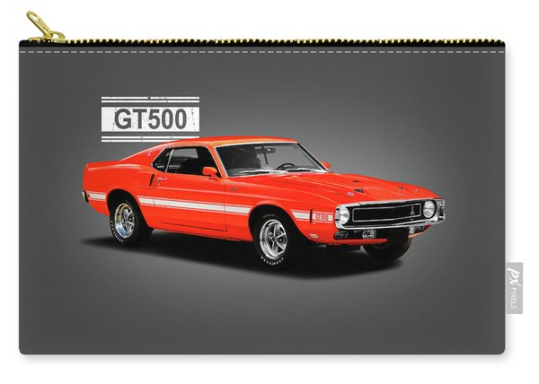 Ford Mustang Shelby Gt500 1969 Carry-all Pouch