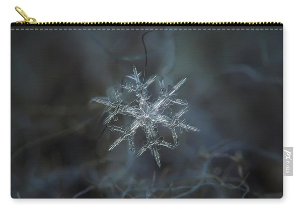 Snowflake Photo - Rigel Carry-all Pouch