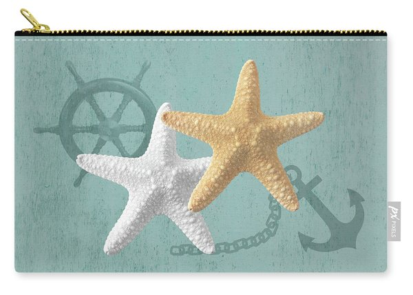 Nautical Stars Carry-all Pouch