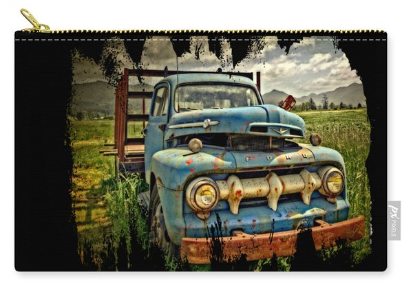 The Blue Classic Ford Truck Carry-all Pouch