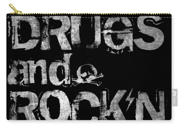 Sex Drugs And Rock N Roll Carry-all Pouch