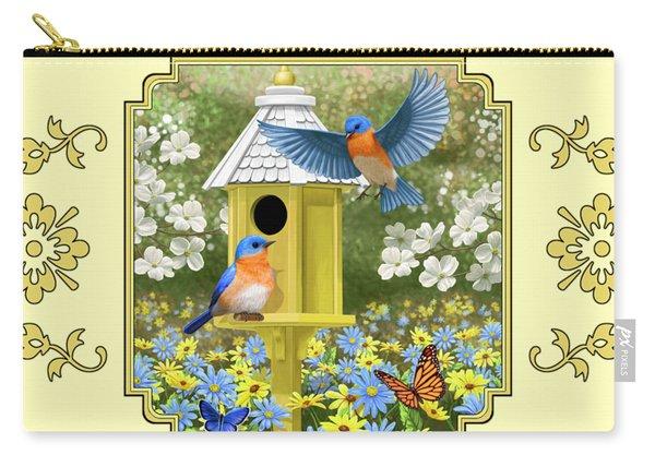 Bluebird Garden Home Carry-all Pouch
