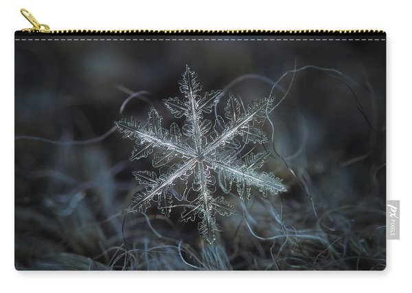 Leaves Of Ice Carry-all Pouch
