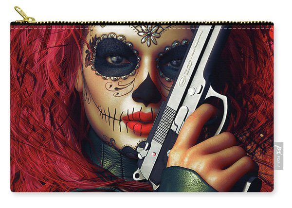 Sugar Doll Long Night Of The Dead Carry-all Pouch
