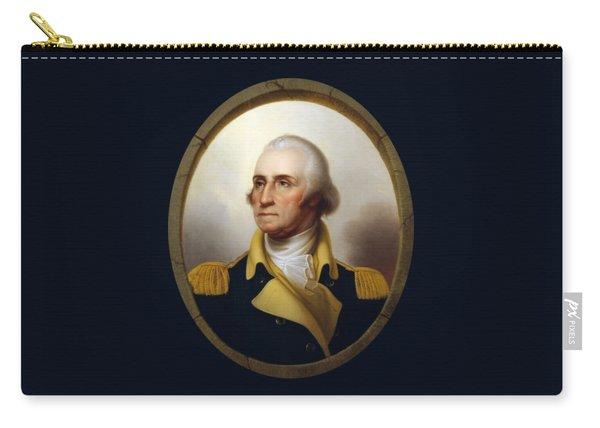 General Washington - Porthole Portrait  Carry-all Pouch