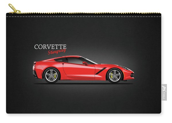 The Red Vette Carry-all Pouch