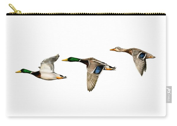 Flying Mallards Carry-all Pouch