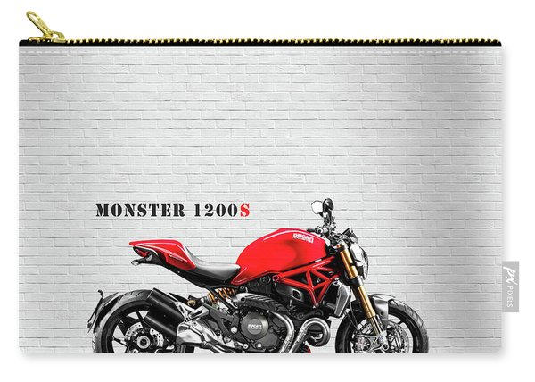 Monster 1200 Carry-all Pouch