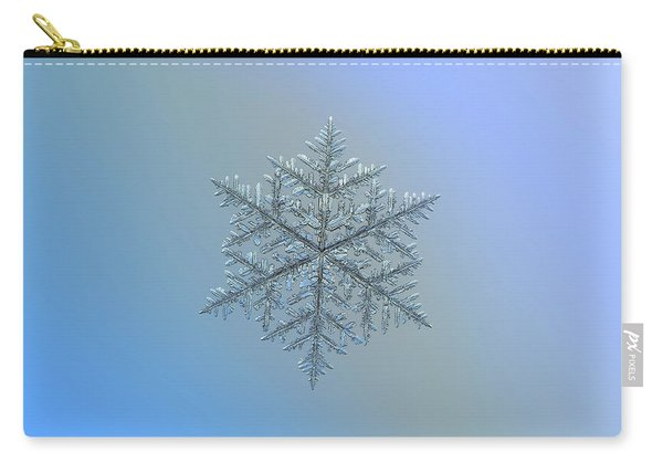 Snowflake Photo - Majestic Crystal Carry-all Pouch