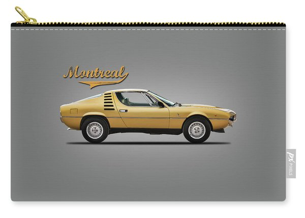 Alfa Romeo Montreal 1972 Carry-all Pouch
