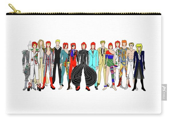 Outfits Of Bowie Carry-all Pouch