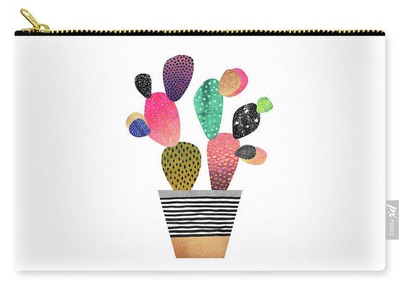 Happy Cactus Carry-all Pouch
