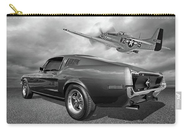 p51 With Bullitt Mustang Carry-all Pouch