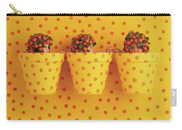 Spotted Pots Carry-all Pouch