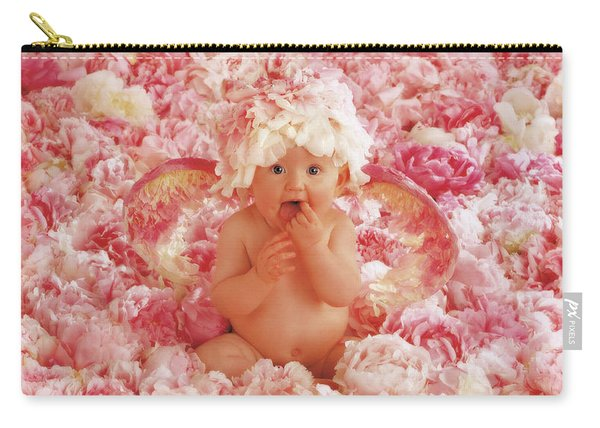 Peony Angel Carry-all Pouch