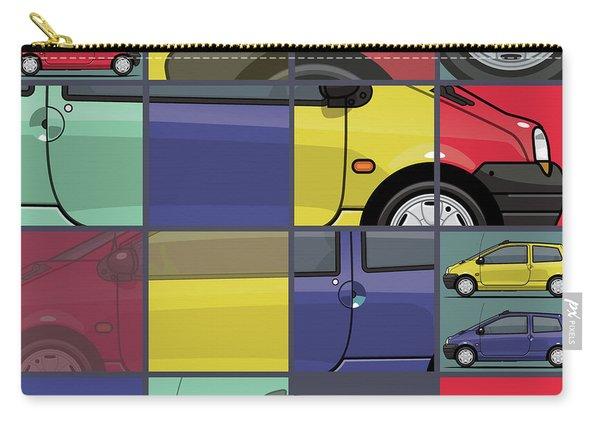 Renault Twingo 90s Colors Quartet Carry-all Pouch
