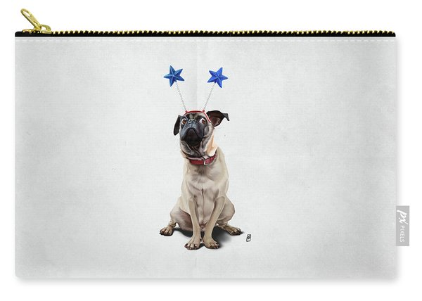 A Pug's Life Wordless Carry-all Pouch